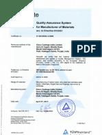 2.2 PED Certificate
