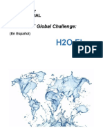 FIRST Global H2O Flow Manual Spanish