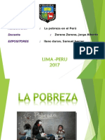 Pobreza Peru Unalm