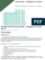 NetApp – A Beginner's Guide+FAQ