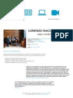 Lorenzo Naccarto Trio - Dossier de presse 2016