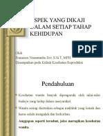 ASPEK YANG DIKAJI DALAM SETIAP TAHAP KEHIDUPAN (KESPRO).pptx