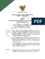 Draft Perka Pedoman Penyusunan RKA BPS