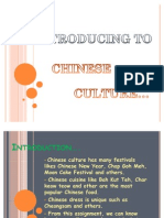 Omt 100, Chinese Culture