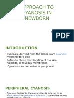 Approach to Cyanosis in Newborn