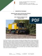 Vehicule Rail Route Vm 8000 12e