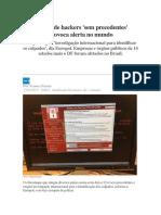 Ataque de Hackers