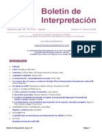 Boletín de Interpretación MUSEOS de SITIO