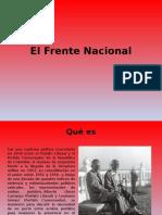 El Frente Nacional y Violencia