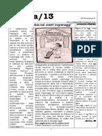 Pagina13 - 20 novembre numero 6