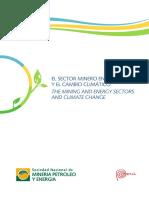 2el Sector Mineroenergetico y El Cambio Climatico