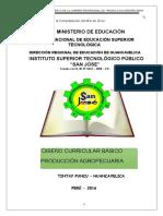 DCB Agropecuaria Contextualizado- 2012