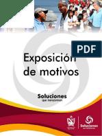 Exposicion de Motivos Ordenanza Pd