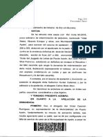 IP carrera sin acreditación CORTE DE COYHAIQUE