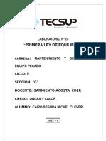 Informe de Mecanica de Solidos Tecsup