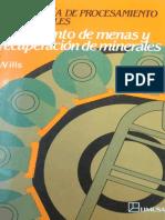 Wills Tecnología de Procesamiento de Minerales - Tratamiento de Menas y Recuperación de Minerales - 2a Edición