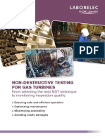 NDT for Gas Turbines