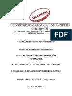 Actividad Nª 6 Actividad de Investigación Formativa I Unidad