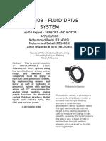 lab 4 fluid drive system