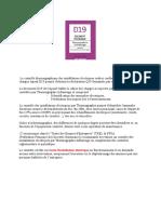 Introduction D19