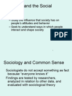 Sociological Research Methods Seminar