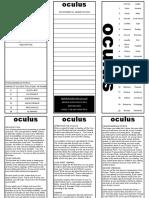 Oculus Tri Fold