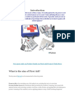 Project on First Aid