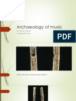 archaeology of music
