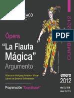 Argumento Flauta Magica