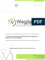 Wegilant Ethical Hacking Workshop Proposal