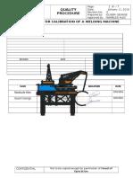 Welding Procedure Document