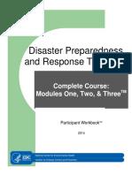 Disaster Preparedness and Response TrainingTM