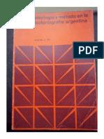 Pla Alberto. Ideología y Método en La Historiografía Argentina