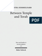 (Texts and Studies in Ancient Judaism_Texte und Studien zum Antiken Judentum 151) Martha Himmelfarb-Between Temple and Torah_ Essays on Priests, Scribes, and Visionaries in the Second Temple Period an(1).pdf