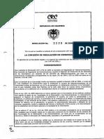 Resolucion Para Regular Publicidad Internet 2009