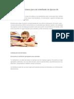 Consejos y Reflexiones Para Un Estudiante en Épocas de Examen