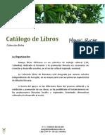 Mango Biche Catálogo de Libros 2017