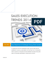 Sales Execution Trends 2014