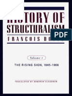 Dosse Francois History of Structuralism 1 the Rising Sign 1945-1966