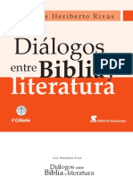 Luis Heriberto Rivas Dialogos Entre Biblia y Literatura