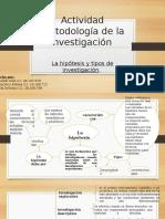 Actividad Metodología de La Investigación