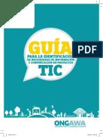 Guia Necesidades Informacion y Comuniacion en Proyecto TIC Def