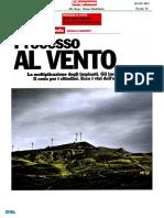 Processo Al Vento Lespresso 20 Giugno 2013