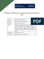 Tesis doctoral sobre el Barroco y Neobarroco en América Latina