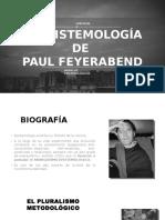 La Epistemología de Feyerabend