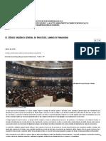 El Código Orgánico General de Procesos, Cambio de Paradigma _ Revista _Defensa y Justicia