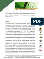Desarrollo de Una Mezcla Asfaltica Utilizando Residuos Plasticos