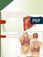 CIRROSIS HEPATICA E HIPERTENSON PORTAL