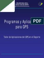 6 Curso GPS Programas y Aplicaciones GPS