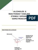 alcoholes II, éteres y epóxidos+espectrosc